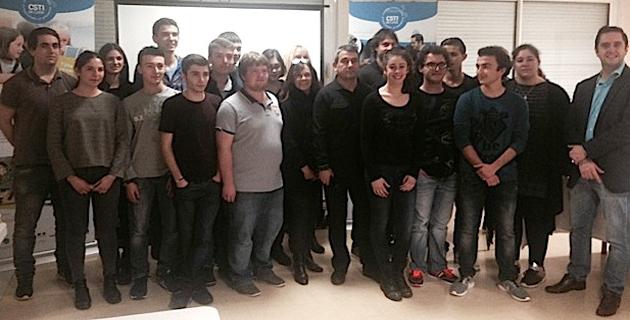 Les élèves, les professeurs et les représentants du CPIE centre Corse ont participé à la remise des prix