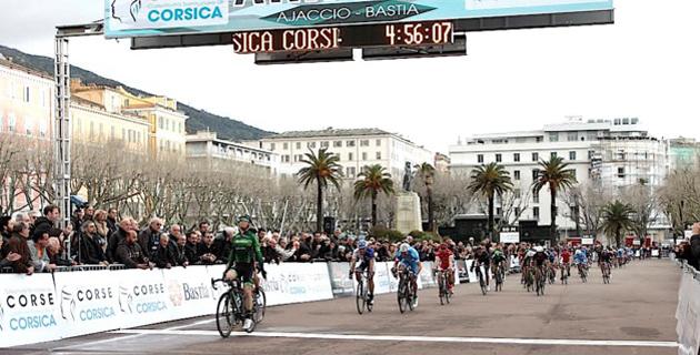Classica Corsica première : La belle arrivée à Bastia