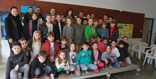 L'intervention de l'ADATEEP à l'école primaire de Cargèse