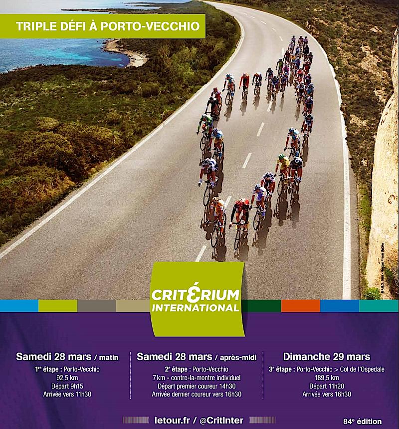 Porto-Vecchio et le critérium international : Ce qu'il faut savoir
