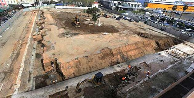 Ajaccio : Réalisation du parking provisoire Campinchi et réhabilitation du boulevard du roi Jérôme