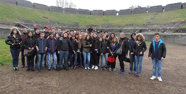 L'Ile-Rousse : Les élèves du collège Pascal-Paoli en voyage en Campanie