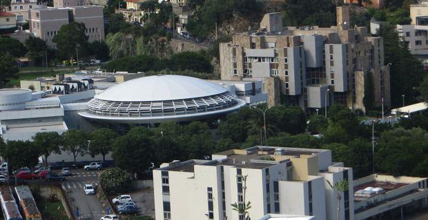 La coupole du Conseil départemental de la Haute-Corse à Bastia.
