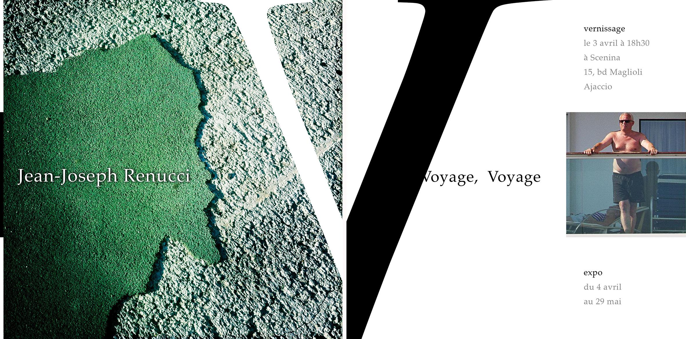 """""""Voyage, voyage [ Géographies & Boat People ]"""" la nouvelle exposition de Jean-Joseph Renucci"""