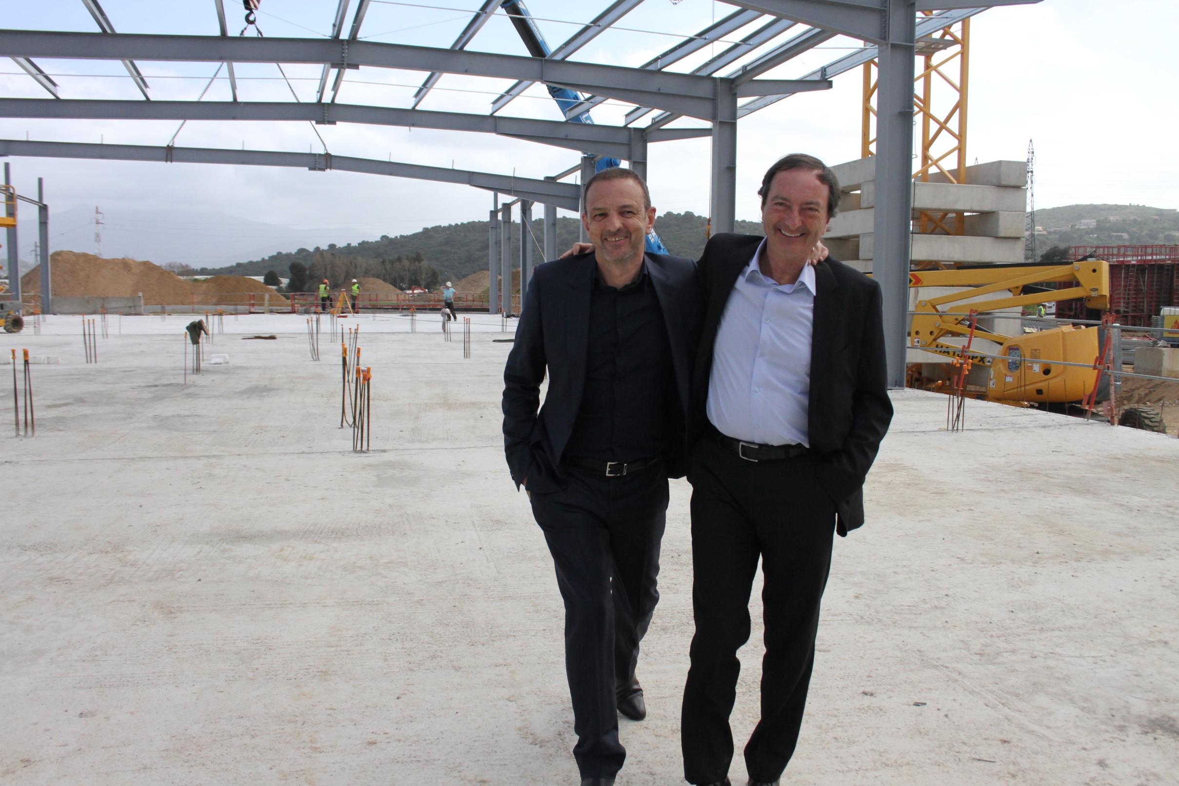 François Padrona  et Michel-Edouard Leclerc :Quand un Corse rencontre un Breton...