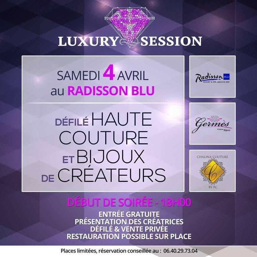 Porticcio : Luxury Session présente son défilé de haute couture sous le signe de l'élégance et du raffinement