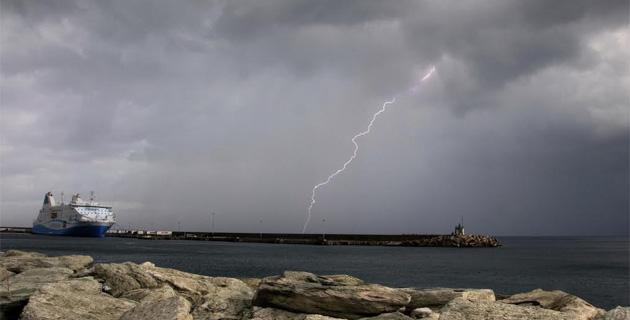 Bastia : Violents orages sur la ville