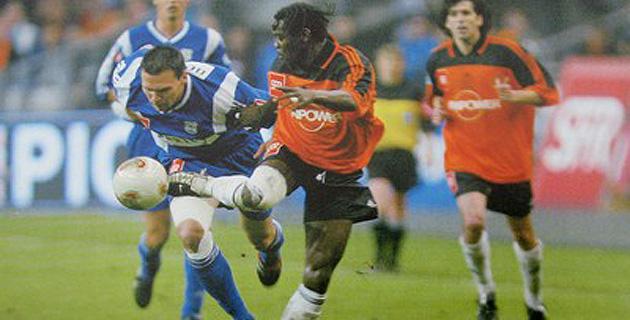 Feidouna devance Uras et le Sporting s'incline face à Lorient