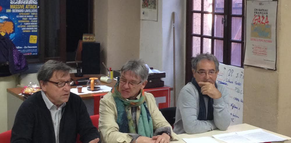Première conférence de presse pour le Front de Gauche et ses trois composantes