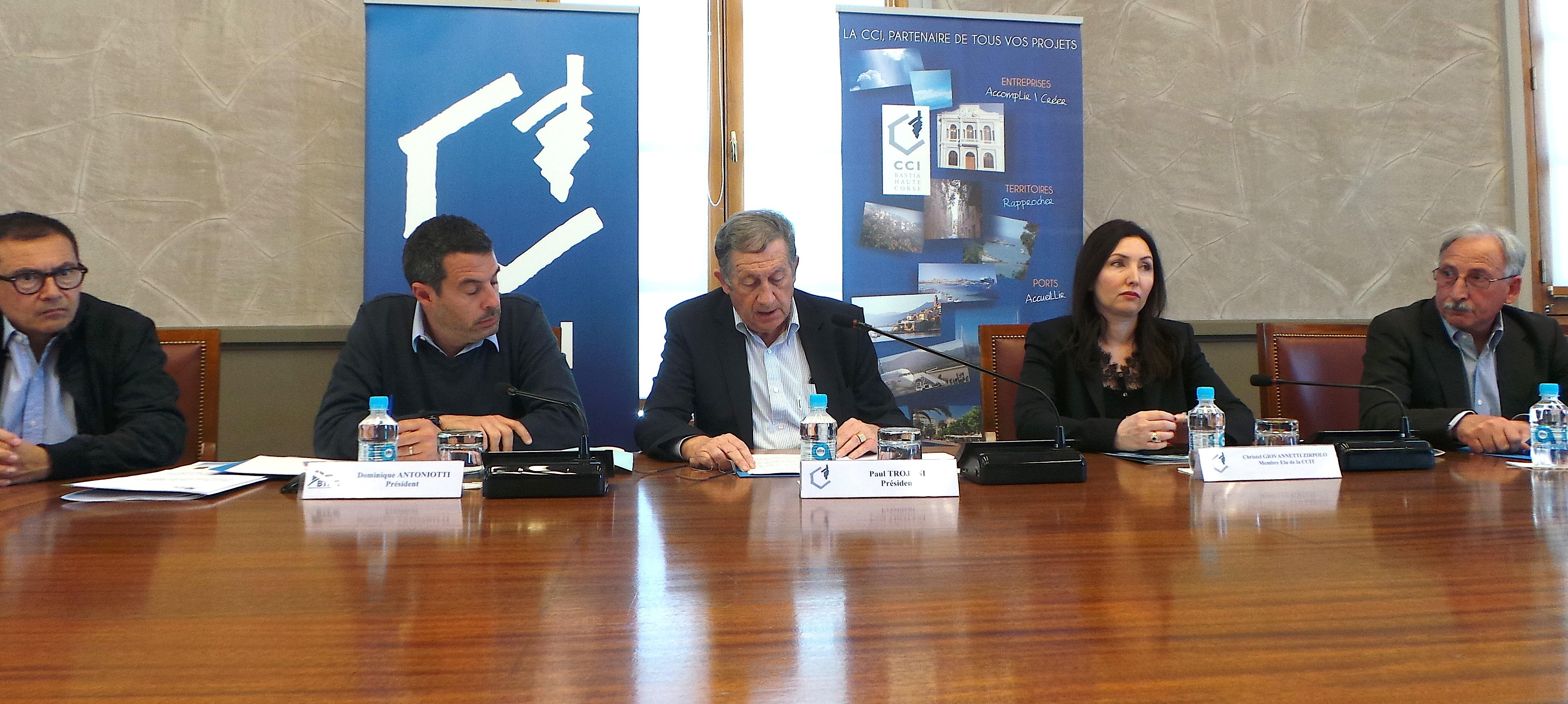 La fédération du Bâtiment et la CCI2B plaident pour un plan d'urgence en faveur du BTP de Corse