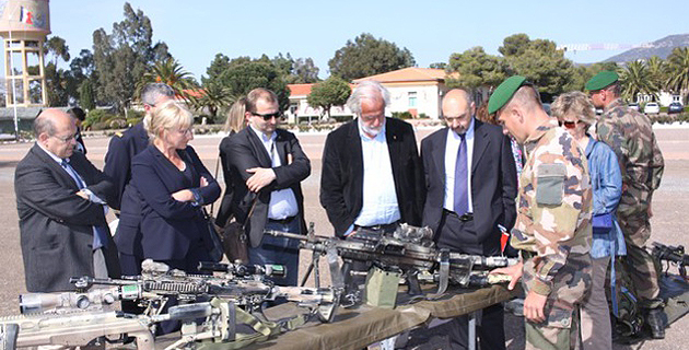 Colloque au 2ème REP de Calvi sur « L'action de la France dans la résolution des conflits africains »