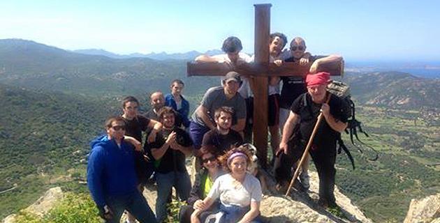 Lisula : Ghjuventù Indipendentista pose une nouvelle croix sur le Sant'Anghjule