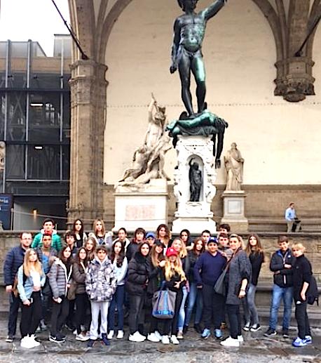 Bella Toscana… Una gita pour les élèves du collège Pascal Paoli