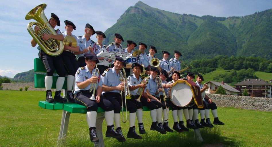 Concert gratuit de la fanfare du 27e Bataillon de chasseurs alpins le 28 avril à Calvi