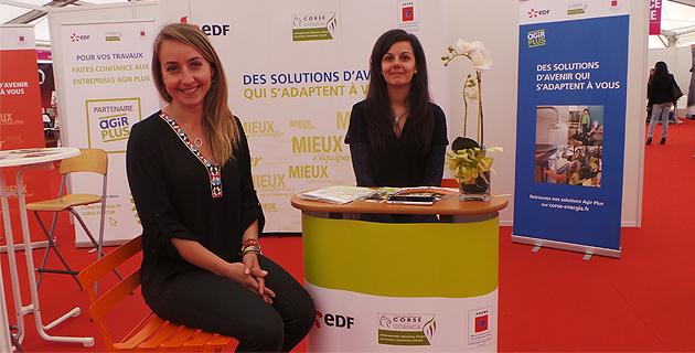 Plus de renseignements au stand EDF du salon de la maison à Bastia