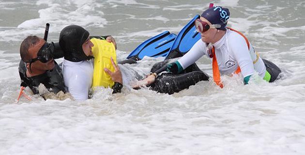 Lozari : Le SDIS de Haute-Corse anime un stage de formation de surveillant de baignade et d'activités nautiques
