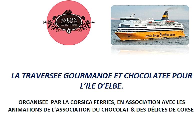 Croisière chocolatée à l'Ile d'Elbe : Gagnez 2 places avec CNI
