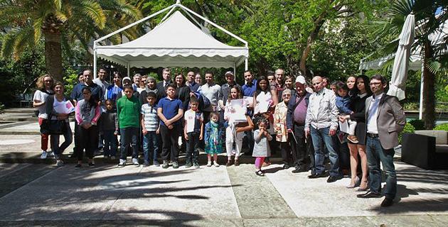 Cérémonie d'accueil dans la nationalité française à la préfecture de Corse-du-Sud