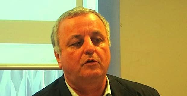 François Alfonsi, maire d'Osani.
