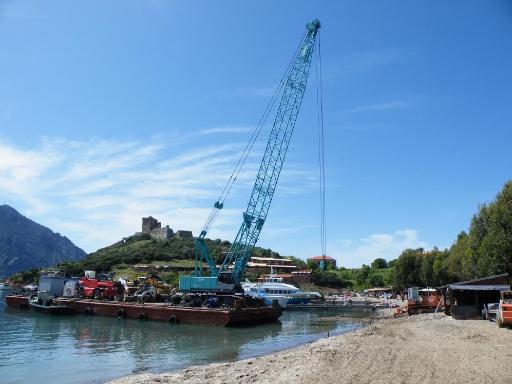 Assainissement de Girolata : Première étape du grand chantier