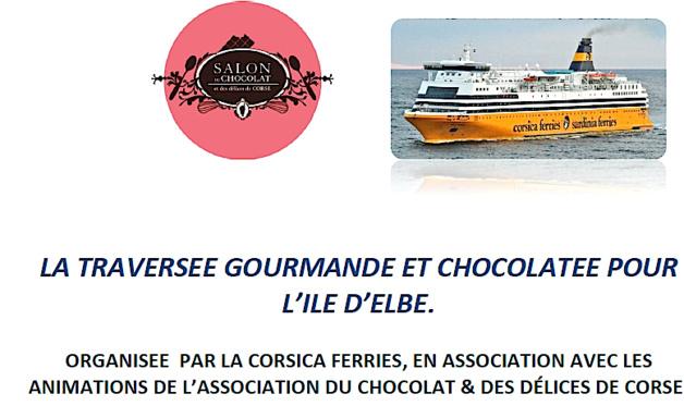 Croisière chocolatée à l'Ile d'Elbe : Vous partirez avec CNI