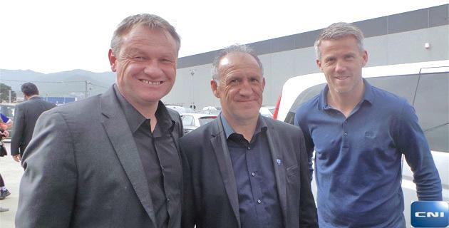 """Frédéric Hantz et """"Mika"""" Landreau : Retour à… Furiani"""