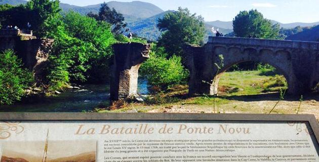 """Battaglia di Ponte-Novu : """"O Corsu ùn ti scurdà di a to storia"""""""