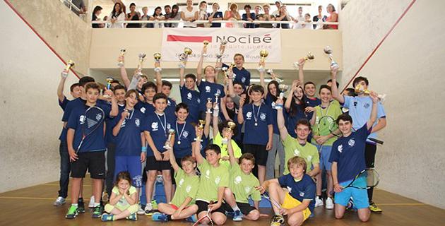 Un joli succès pour le 9e Open jeunes de squash à L'Ile-Rousse