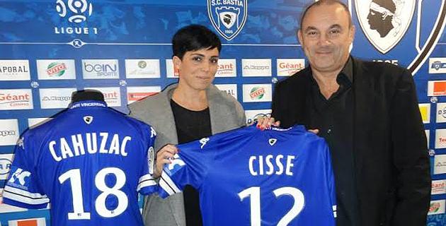 Le SC Bastia partenaire d'Inseme pour le dernier match de la saison