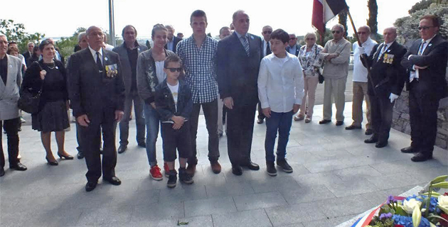 La commémoration du 8-Mai à Biguglia
