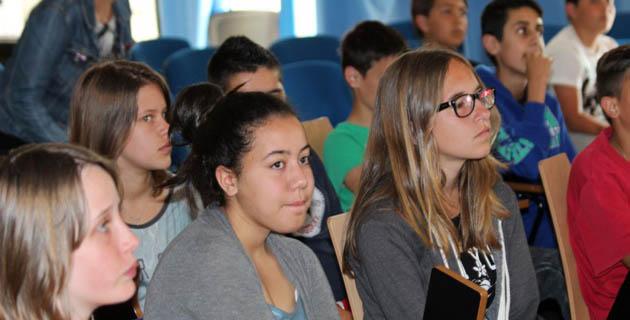 120 élèves du Collège Pascal-Paoli de L'Ile-Rousse sensibilisés aux détecteurs de fumée