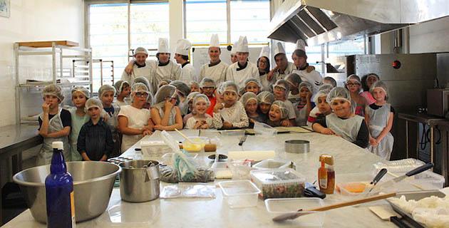 Ajaccio : Cuisine au miel et découverte des saveurs pour les élèves de l'école Sampiero