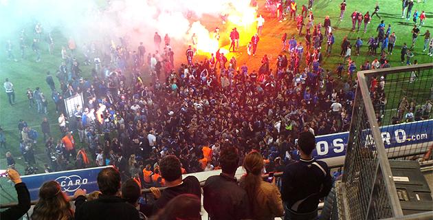 SC Bastia : Un feu d'artifice pour la fin de la saison à Furiani