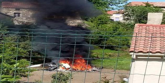 Crash de l'hélicoptère à Boccognano : Deux blessés dont un dans un état grave
