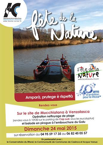 La Haute-Corse célèbre la fête de la Nature à Mucchiatana, à Galeria et à l'étang de Biguglia