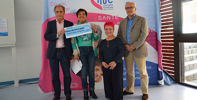 Association Ghjuvan Francescu : 400 000 € en 20 ans à l'Institut Paoli-Calmettes