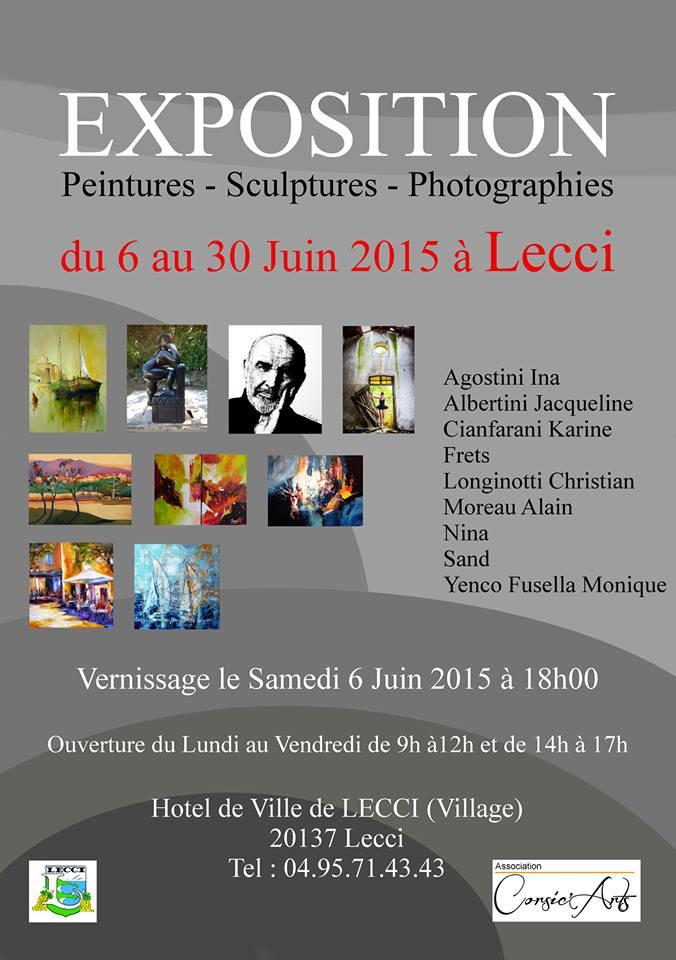 L'association Corsic'Arts expose à Lecci