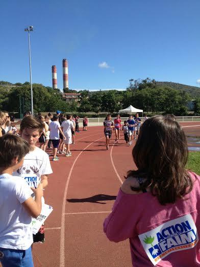 Ajaccio et Propriano : 1 400 élèves ont couru pour lutter contre la faim
