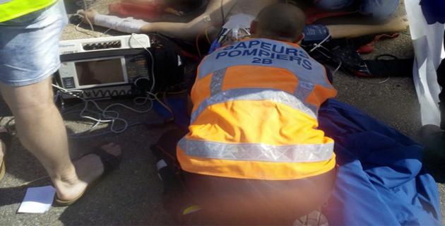 Un motard grièvement blessé à Lozari