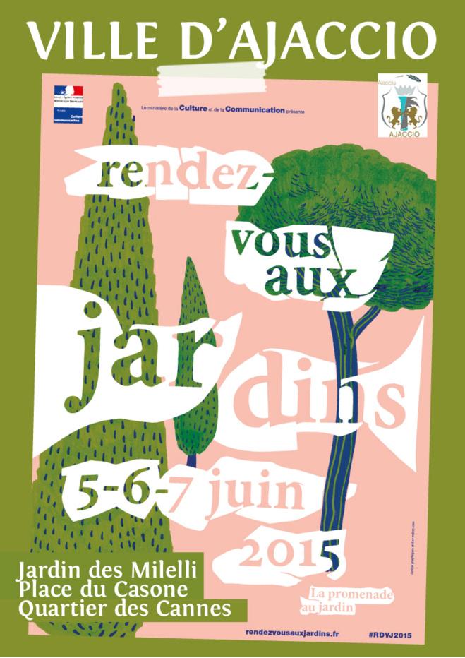 """""""Rendez-vous aux jardins"""" à Ajaccio une 13ème édition sur le thème de la promenade au jardin"""