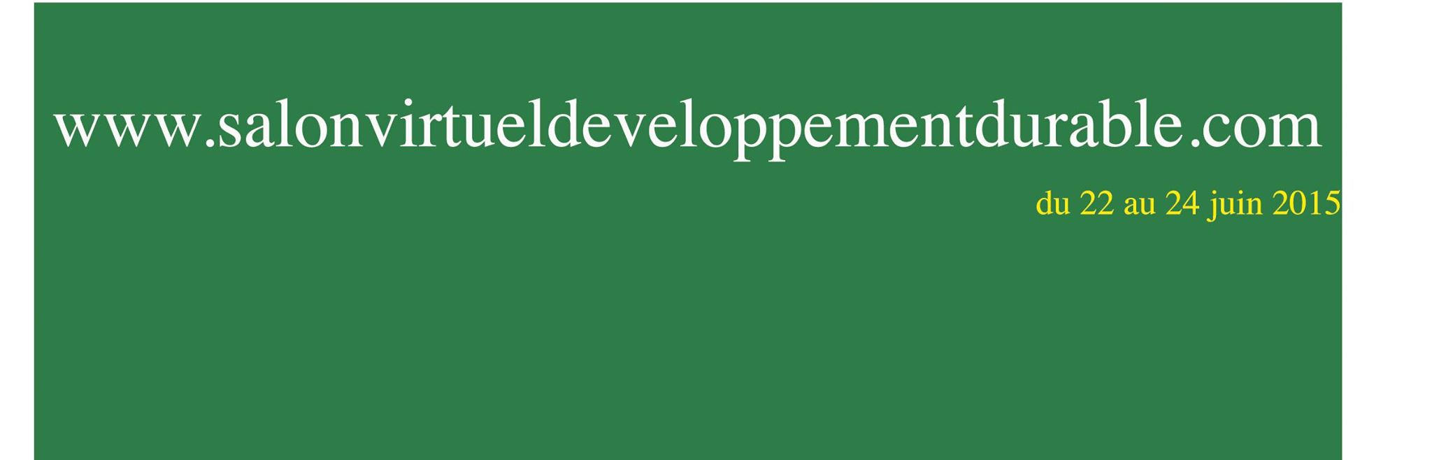 Le 1er Salon virtuel du Développement Durable en Corse les 22, 23 & 24 juin