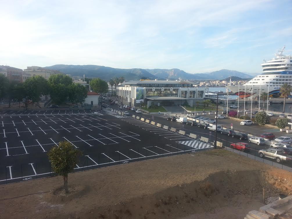 Conseil municipal d'Ajaccio : Ouverture du parking des quais