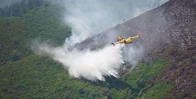 Incendie : 5 hectares détruits à Volpajola