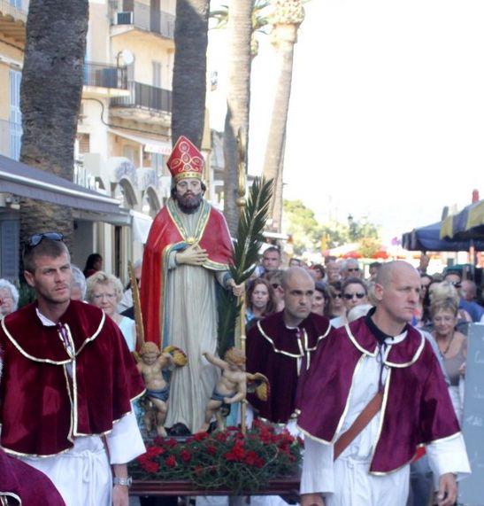 Fête de Saint Erasme le 7 juin à Calvi
