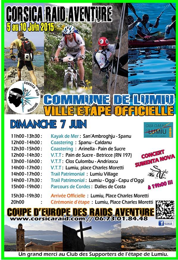 30 équipes au départ du Corsica Raid Aventure à Bastia