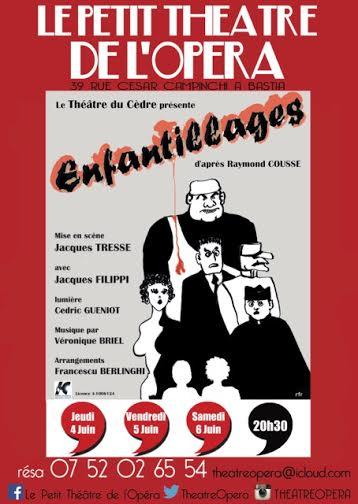 Bastia : Quelques «Enfantillages» au petit theatre de l'opéra !