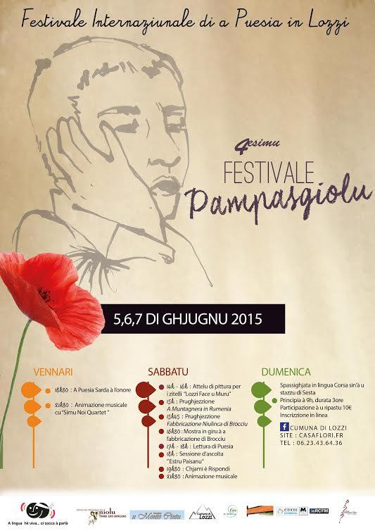 Scrive, amparà, leghje, cantà é impruvisà a Puesia : Festivale Internaziunale di a Puesia di Lozzi
