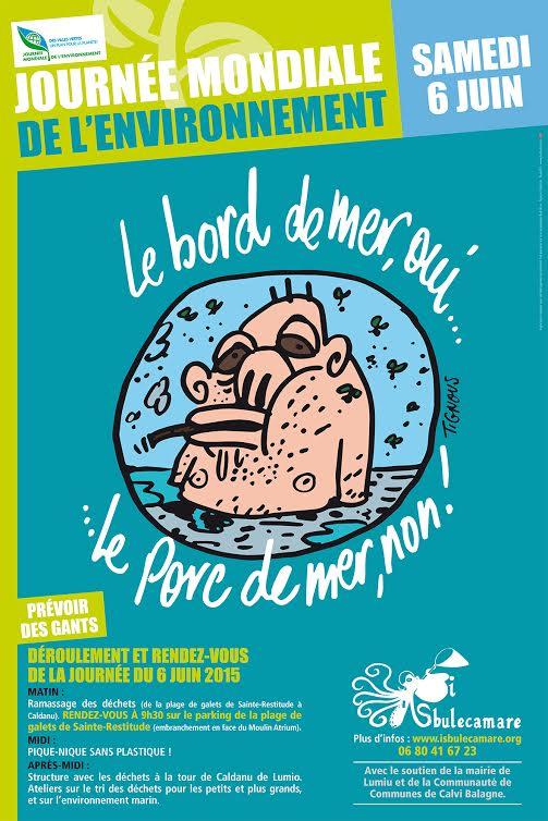 Balagne : I Sbuleca mare se mobilisent pour la journée mondiale de l'environnement