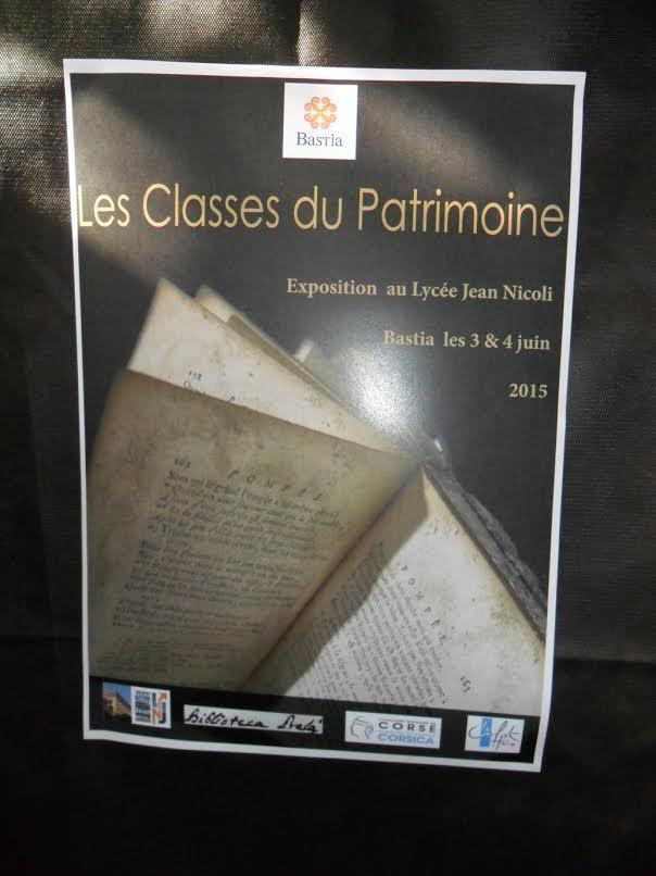 """Lycée Jean-Nicoli : """"Ici, ailleurs, au fils du temps"""" par la Brigade d'interventions Poétiques"""