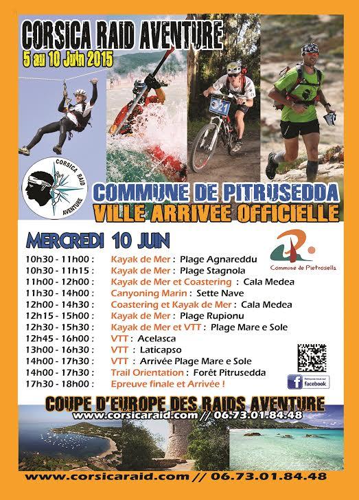 Corsica Raid Aventure : L'arrivée sera jugée à Pietrosella